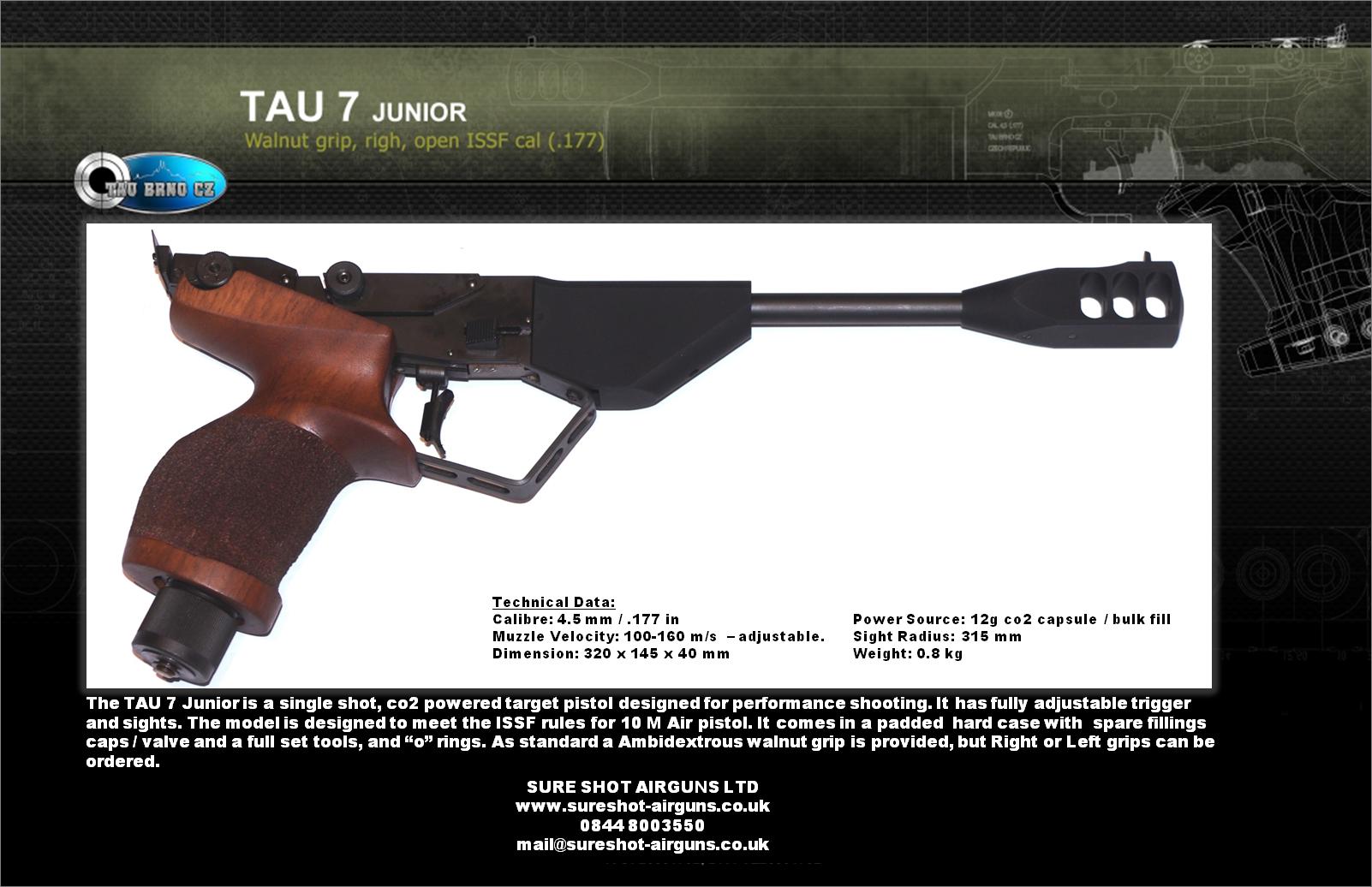 TAU BRNO - TAU 7 - Sure Shot AirgunsSure Shot Airguns